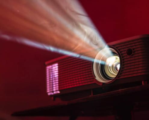 projector used for diy projector screen