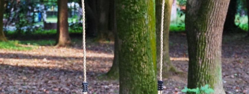 Best Swing Set - HAPPY PIE PLAY&ADVENTURE Nostalgic Children to Adult Wooden Hanging Swings Seat