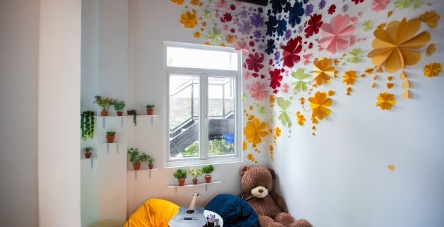 childrens room with toys